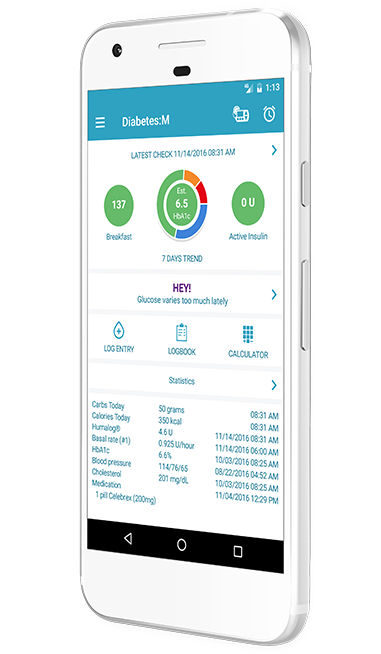 Diabetes:M – Your Diabetes Management App – Keep Diabetes