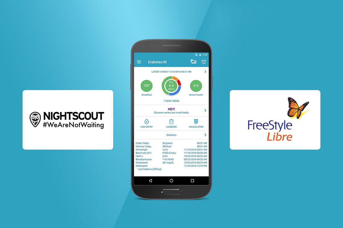 3rd party support for Freestyle Libre scans and syncing