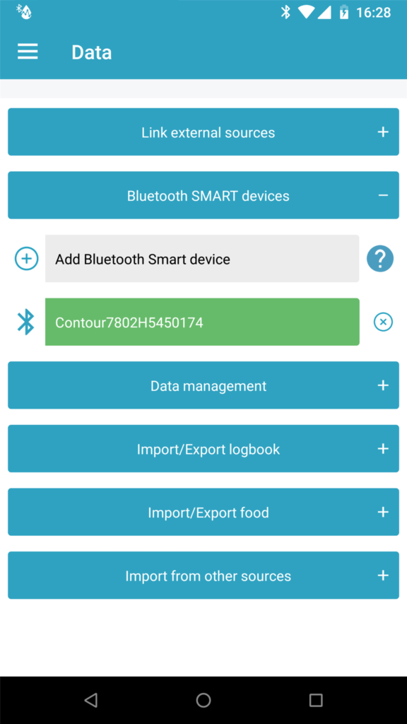 Bluetooth automation for glucose meter readings now available on